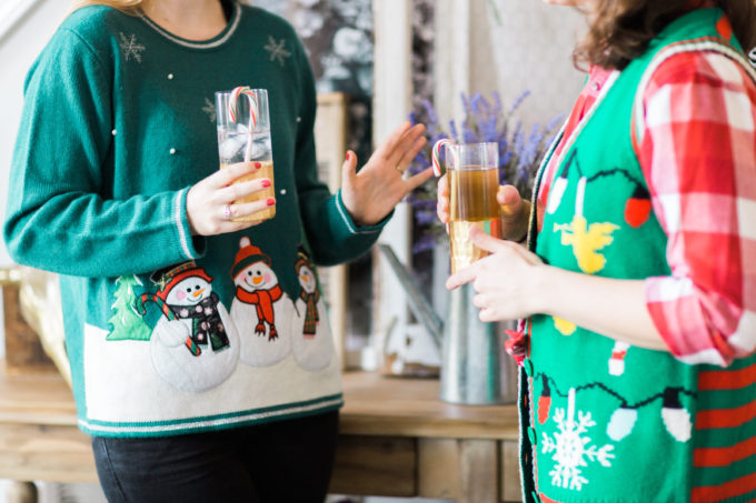 How to throw the cutest ugly sweater holiday party. Click through for the details. | glitterinc.com | @glitterinc