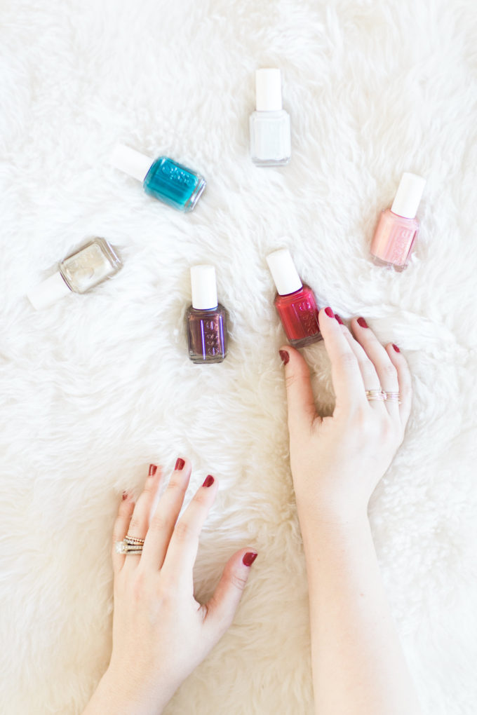 My Favorite Holiday Nail Polish Colors This Season. Click through for the details. | glitterinc.com | @glitterinc