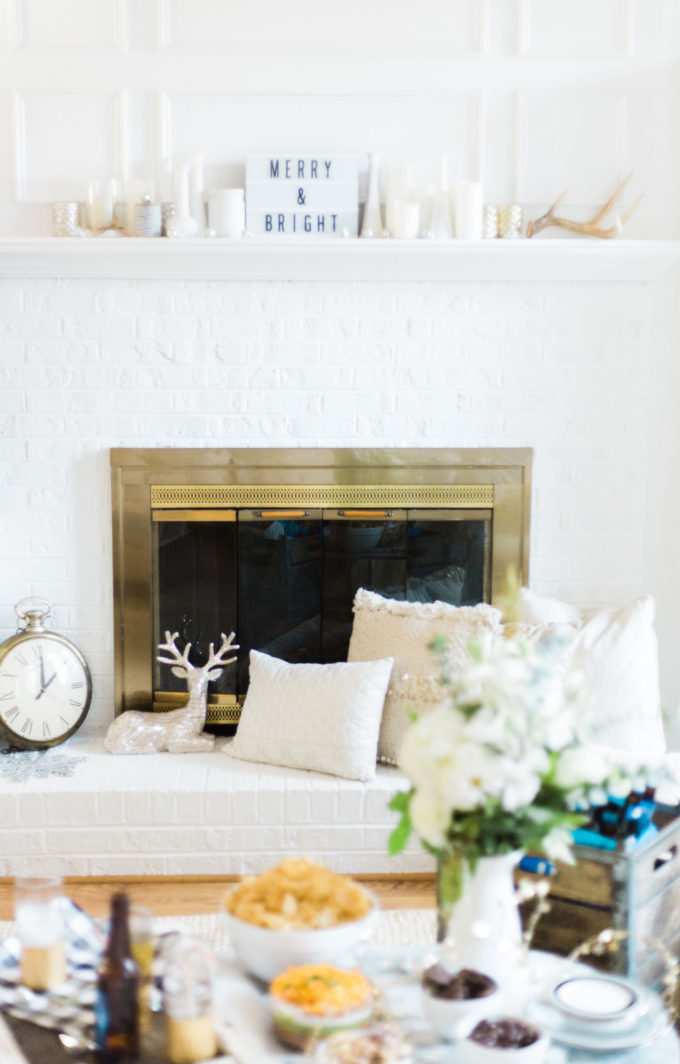 How to throw the cutest ugly sweater holiday party. Click through for the details.   glitterinc.com   @glitterinc