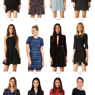 12 Festive Holiday Dresses for Any Occasion