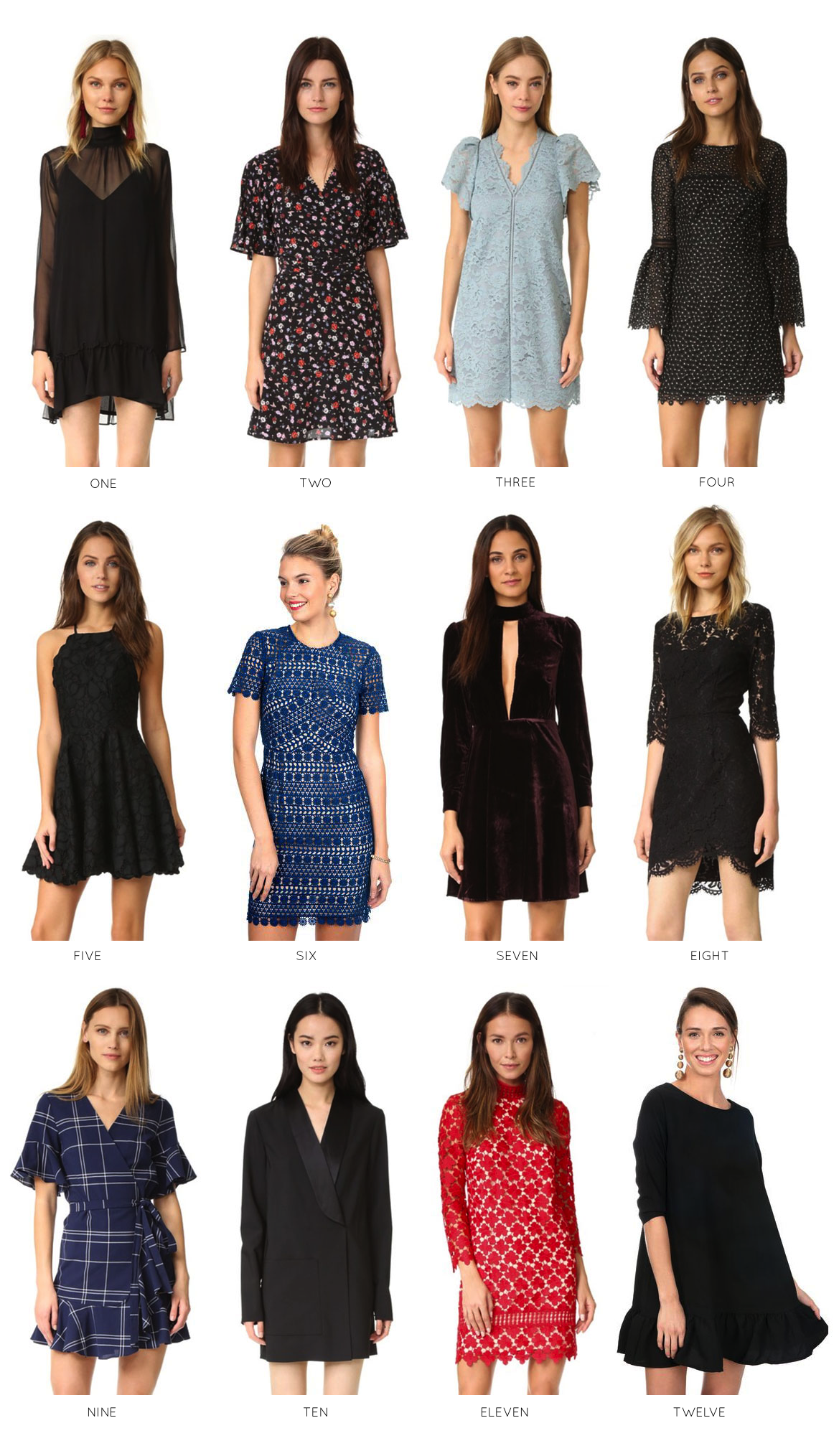 12 Festive Holiday Dresses for Any Occasion. Click through for the details. | glitterinc.com | @glitterinc