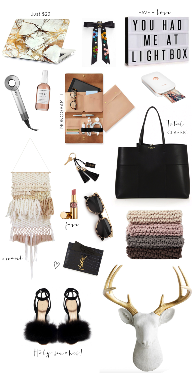 Gift Guide | Stylish Gifts for Her. Click through for the details, plus a HUGE Target Giveaway. | glitterinc.com | @glitterinc