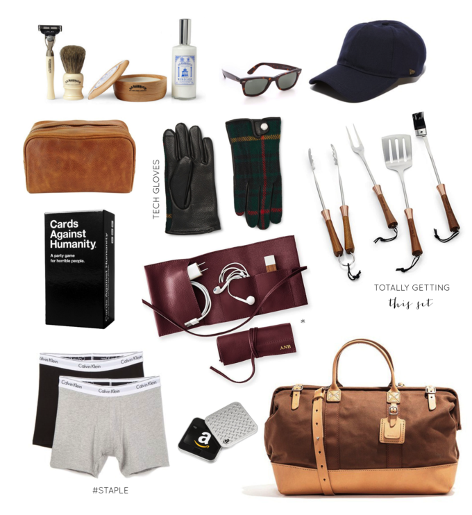 Gift Guide | Gifts for Him. Click through for the details. | glitterinc.com | @glitterinc