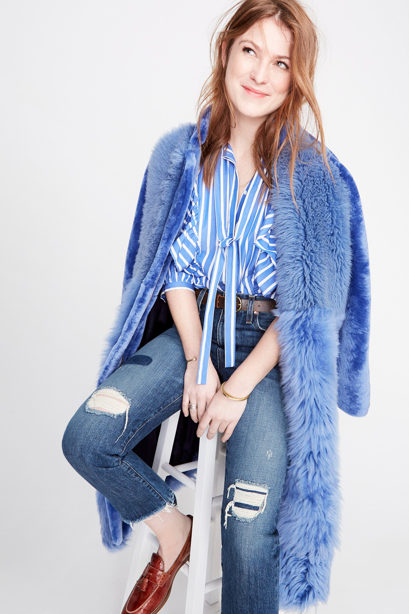 Fashion style Fall j.crew denim collection for woman