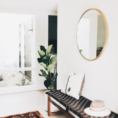 A Simple Modern Design Upgrade: The Round Mirror