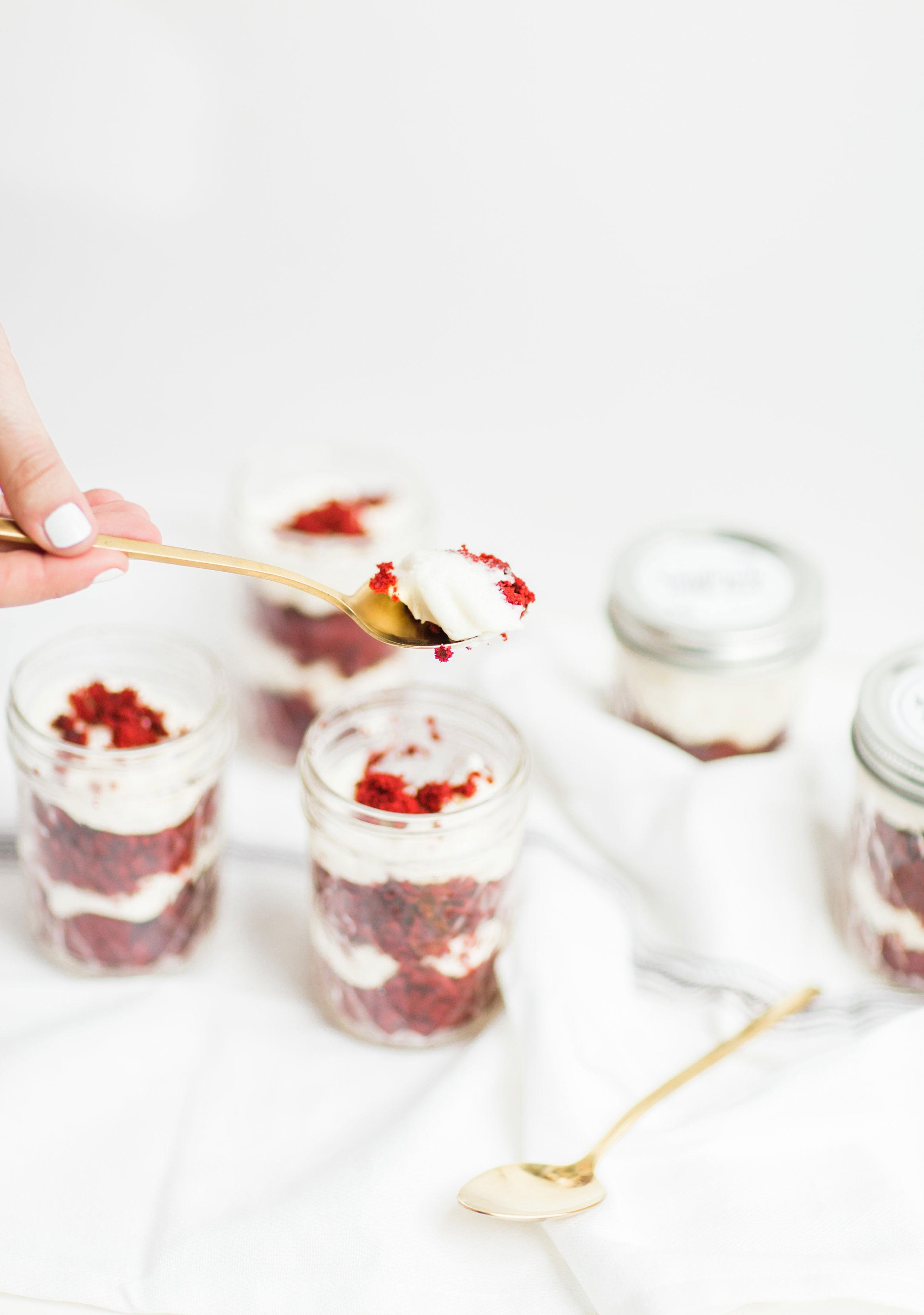 My Absolute Favorite Red Velvet Cupcakes (in a Jar ...