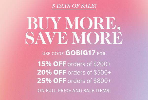 The Shopbop Big Sale Event; as in, up to 25% off everything. (What to buy for Spring!) Click through for the details. | glitterinc.com | @glitterinc