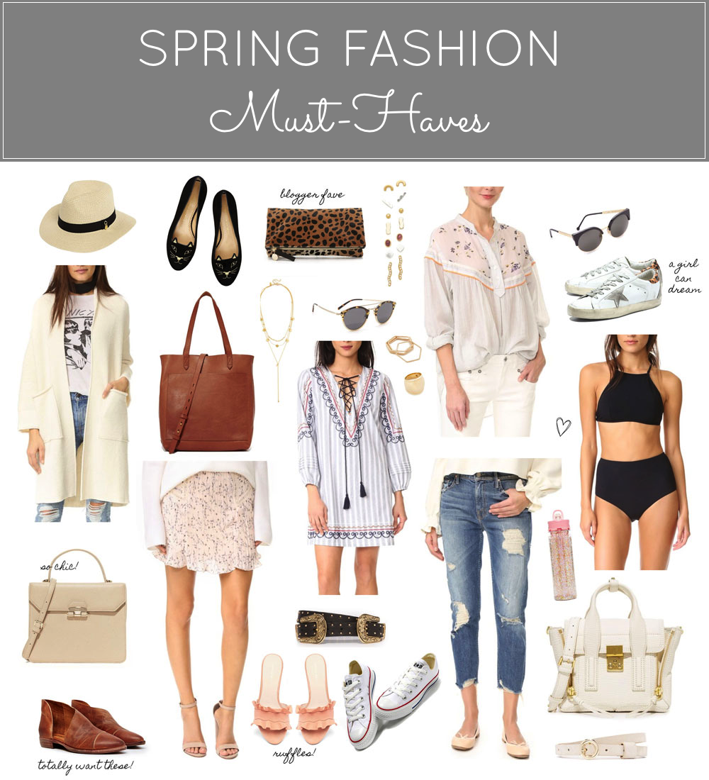 Spring Fashion Must-Haves (and a Major Shopbop Sale!) Click through for the details. | glitterinc.com | @glitterinc