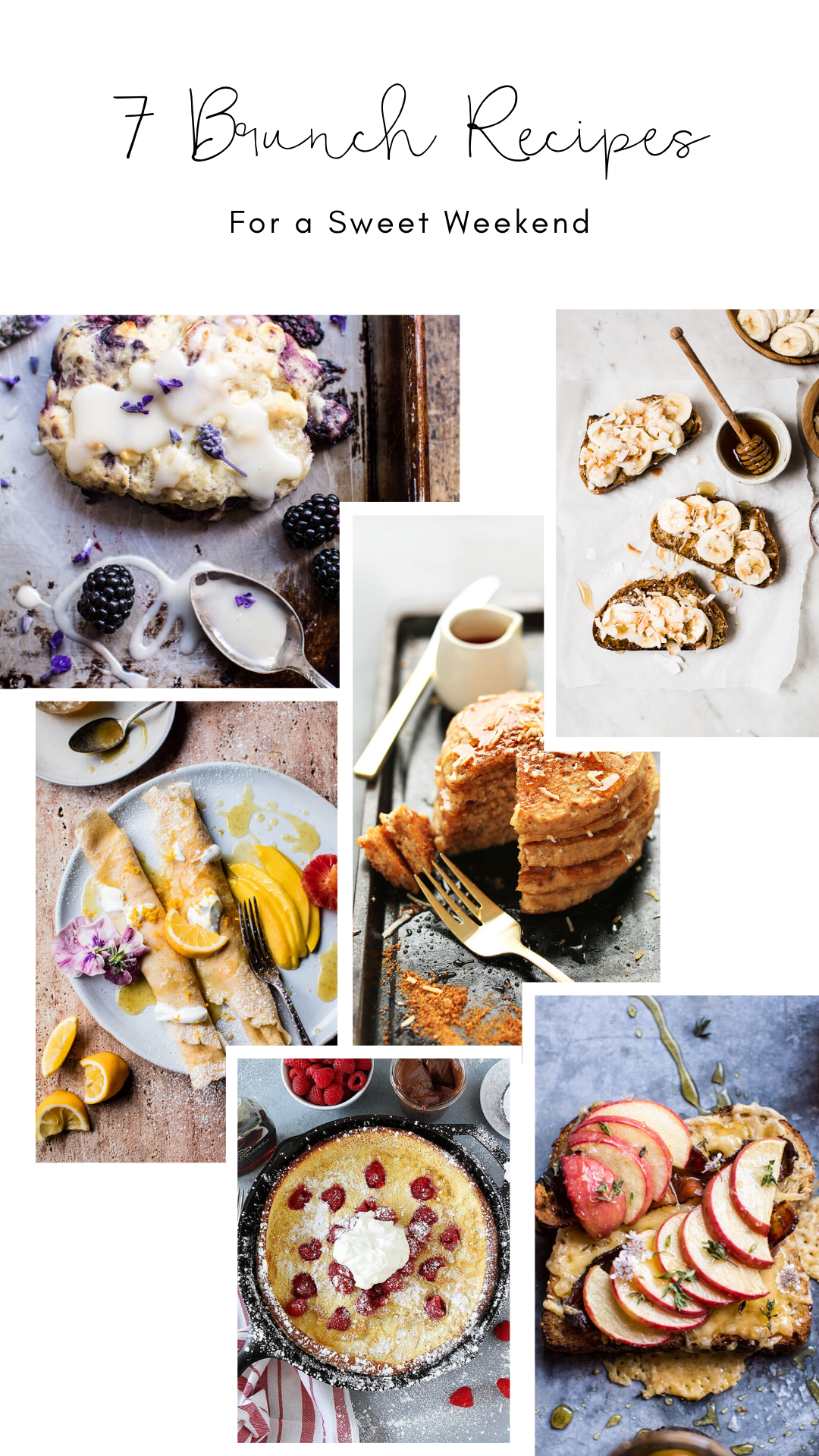 Craving something sweet this weekend? These 7 brunch recipes are all perfectly sweet and utterly delicious! | glitterinc.com | @glitterinc