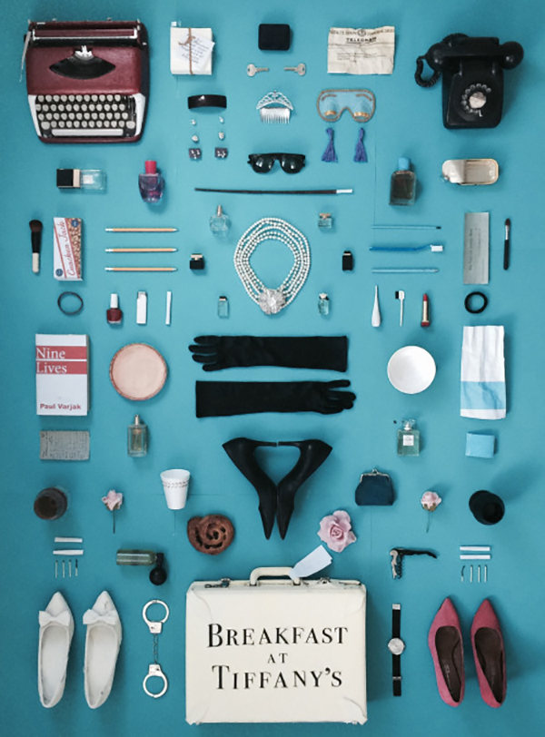 Cult Films as Posters: Breakfast at Tiffanys. Click through for more. | glitterinc.com | @glitterinc
