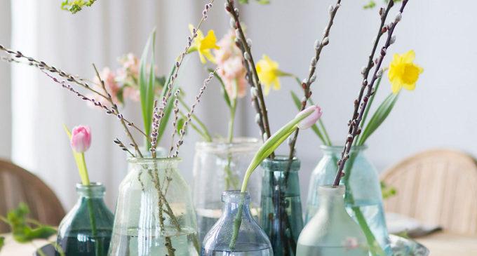Bubble Glass Vases