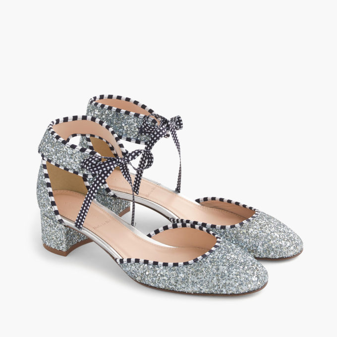 The 10 Prettiest Spring Shoes at J.Crew Right Now. Click through for the details. | glitterinc.com | @glitterinc