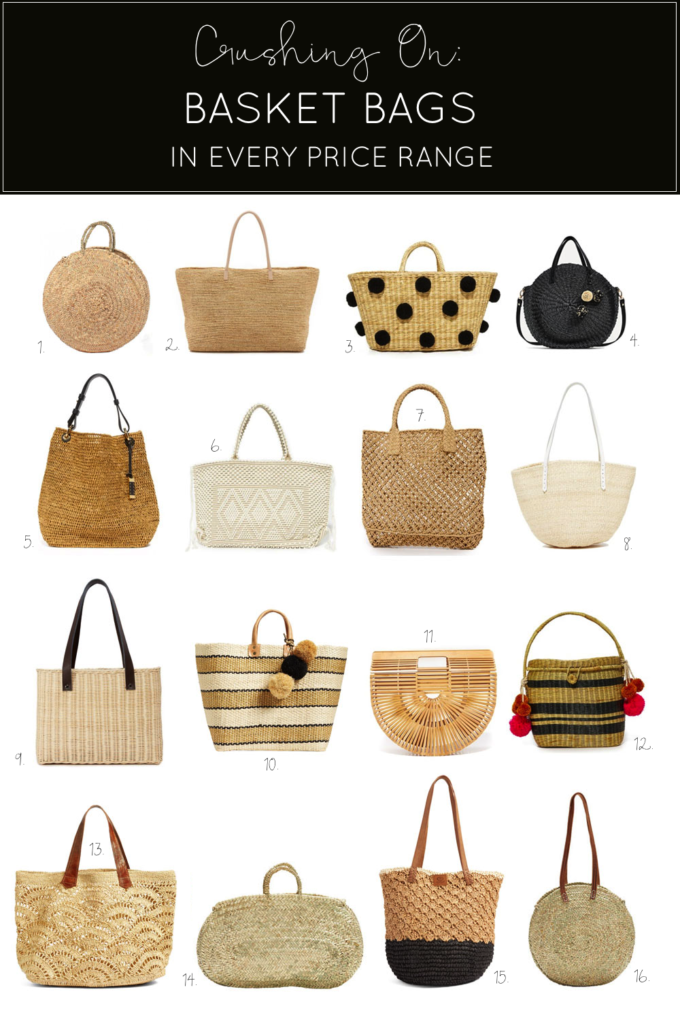 Trend-Spotting: 16 Basket Bags for Every Budget You Should Buy Now by North Carolina blogger Lexi of Glitter, Inc