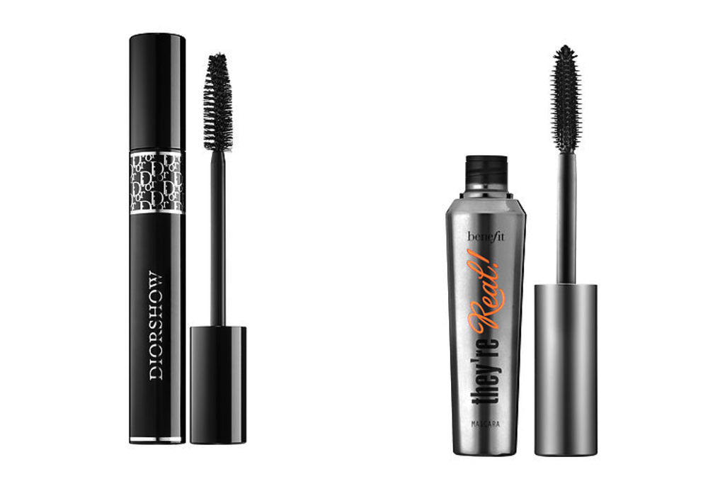 Dior Diorshow Mascara and Benefit Cosmetics They're Real! Lengthening & Volumizing Mascara