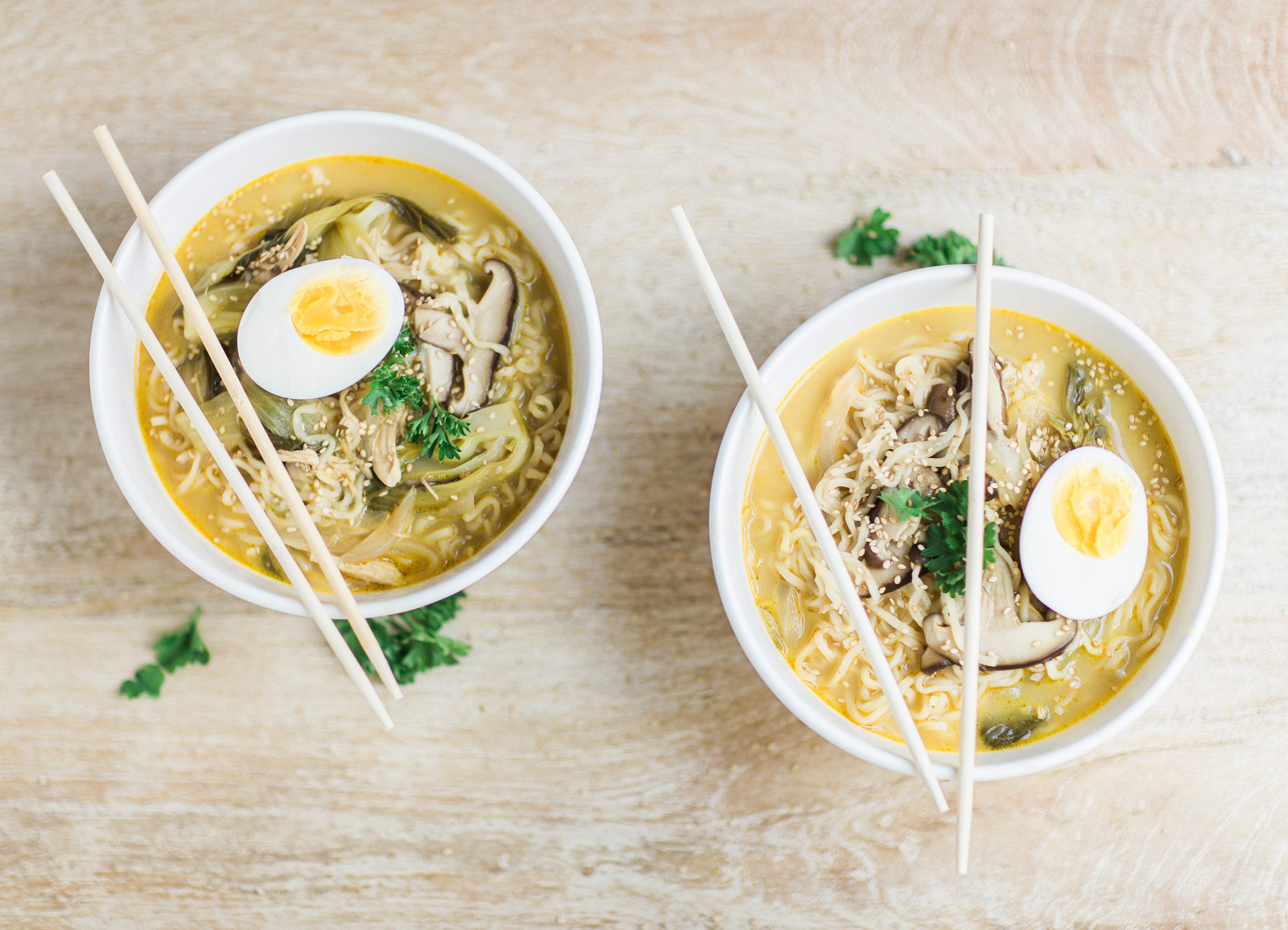 Simple Ramen Noodles Recipe in Under 15 Minutes by lifestyle blogger Lexi of Glitter, Inc.