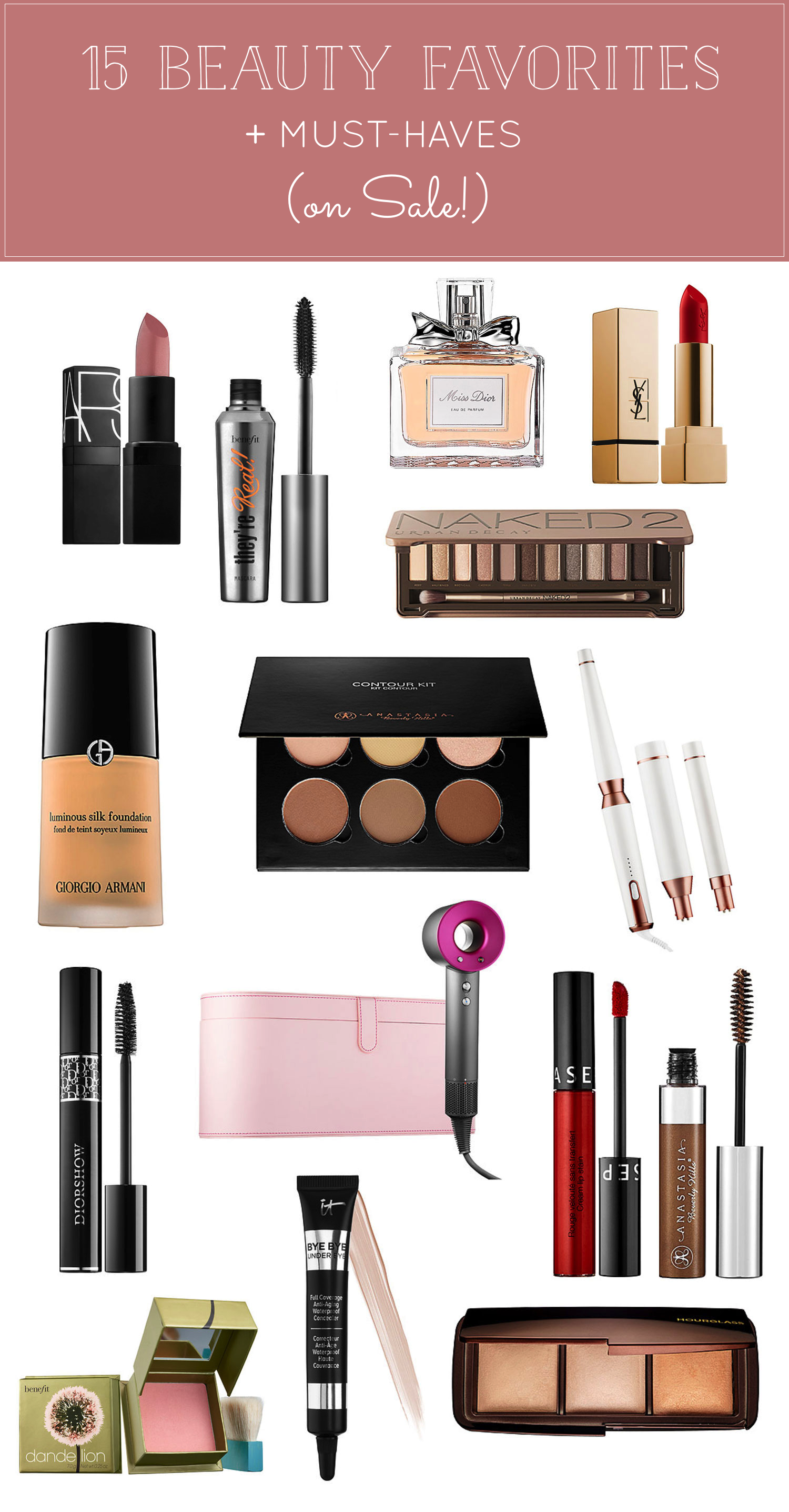 15 Of The Best Things To Get At Sephora's HUGE Sale, plus my Beauty Favorites. Click through for the details. | glitterinc.com | @glitterinc