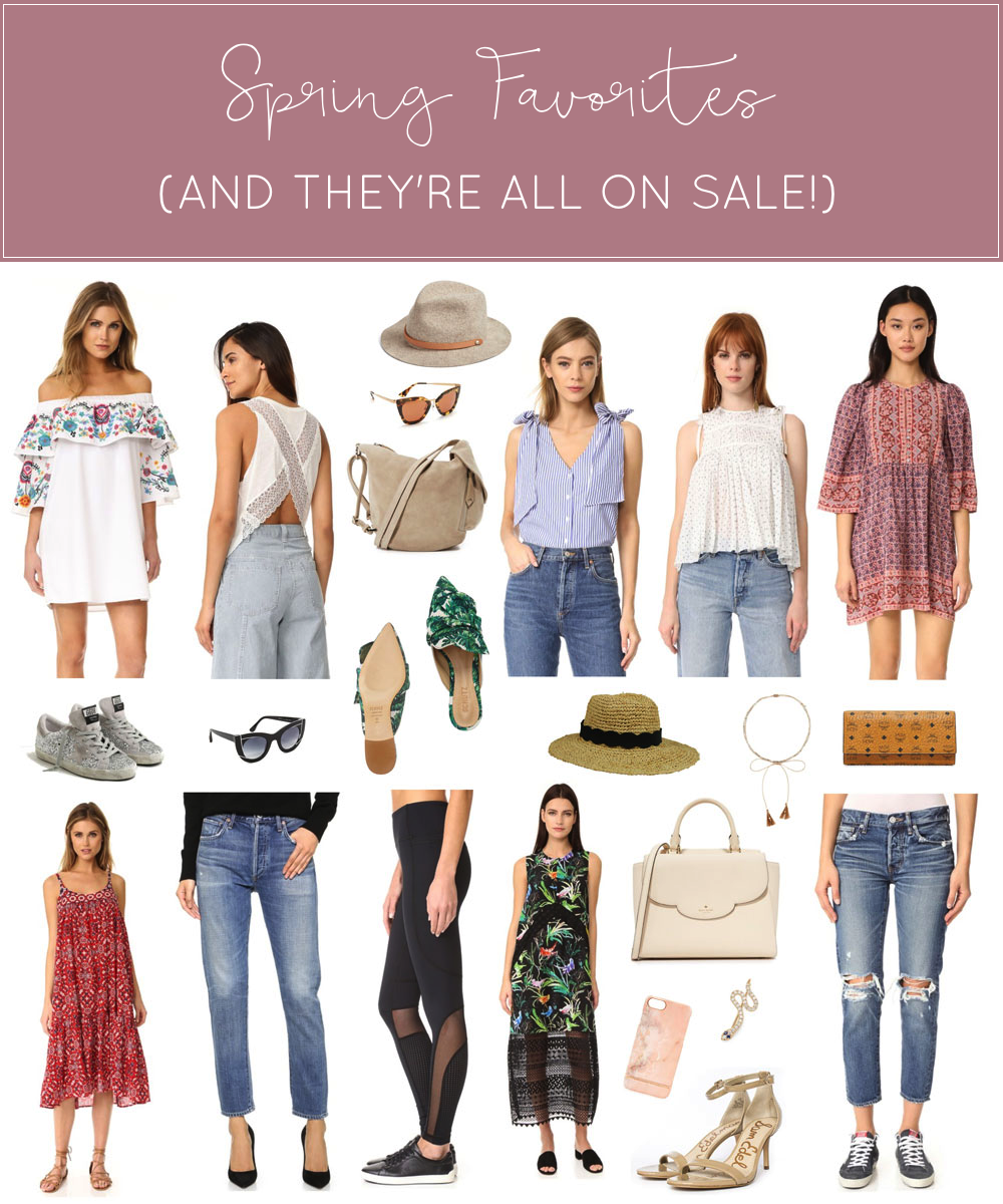 These are the Spring favorites I have at the very top of my wish list (and they are all part of the BIG Shopbop sale!) | glitterinc.com | @glitterinc