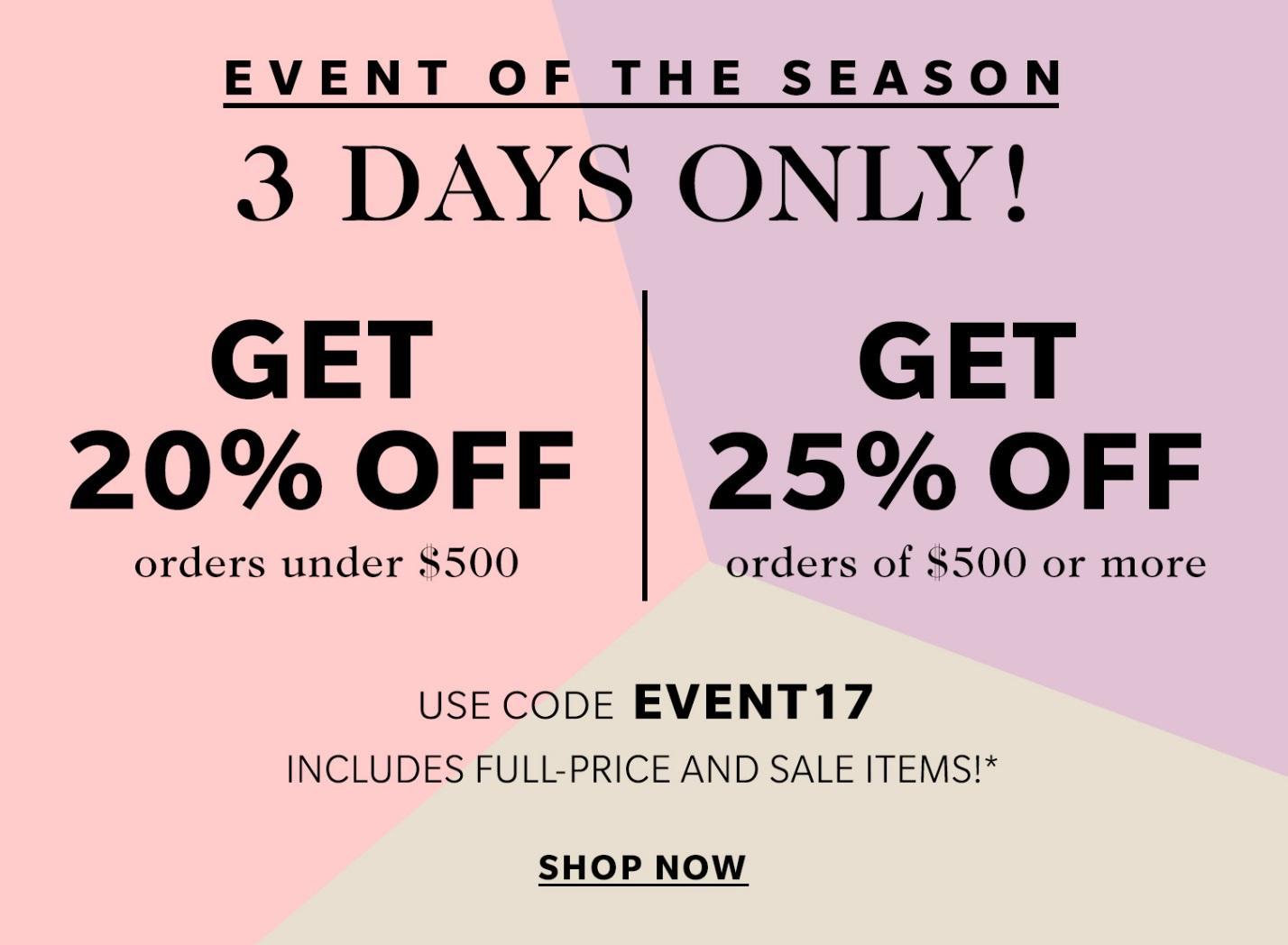 The BIG Spring Shopbop sale!) | glitterinc.com | @glitterinc