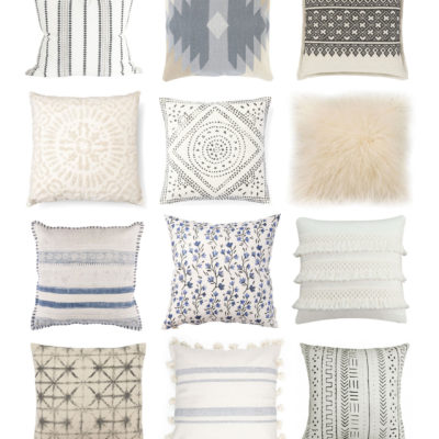 18 Neutral Throw Pillows to Spruce Up Any Space