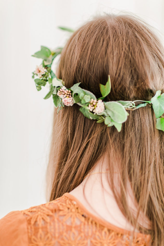 How to Make a Real Flower Crown