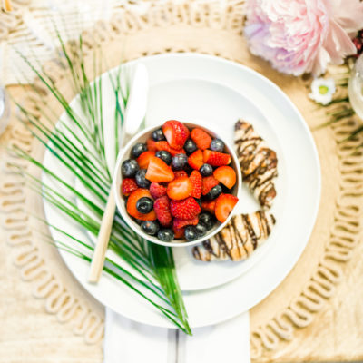 5 Steps to An Unforgettable, Easy and Chic Summer Brunch