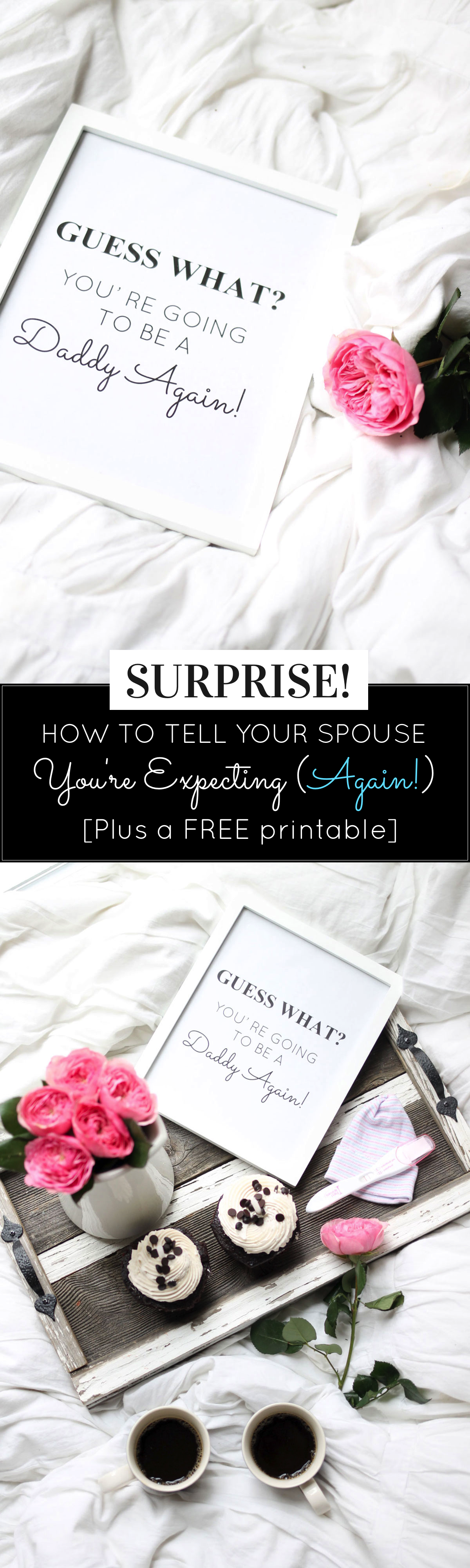 How to Tell Your Partner You're Pregnant Again, plus a FREE printable, by lifestyle blogger Lexi of Glitter, Inc. | glitterinc.com | @glitterinc
