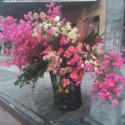 Pop-Up Flower Flashes: New York City's Flower Bandit