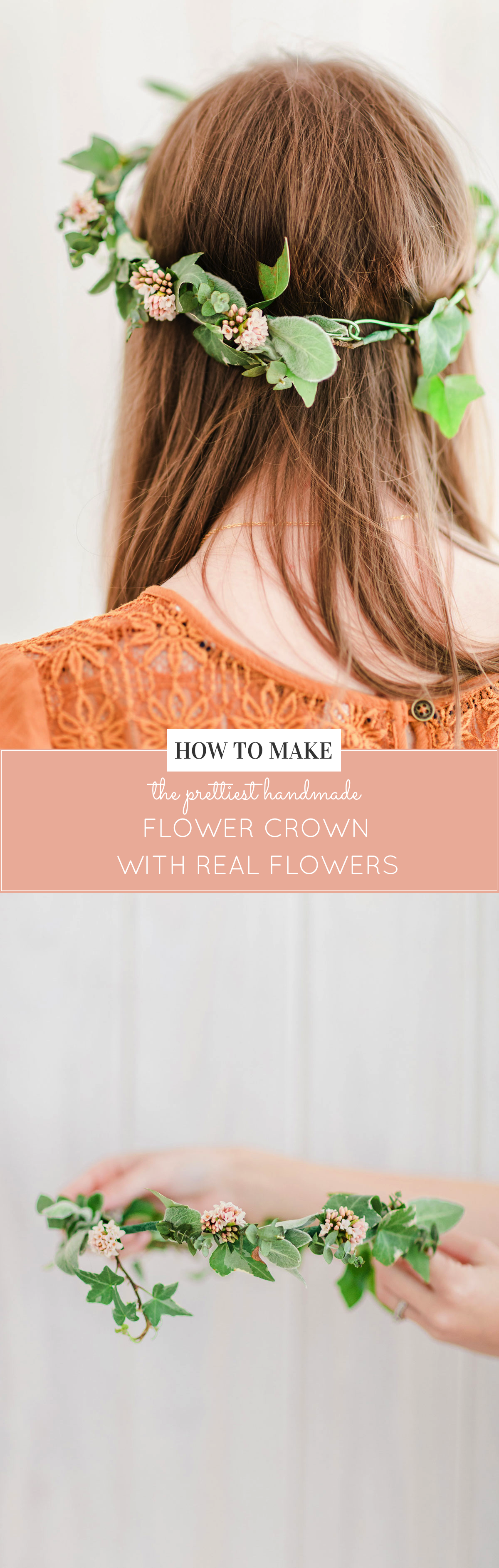 How To Make A Real Flower Crown Diy Entertaining Glitter Inc