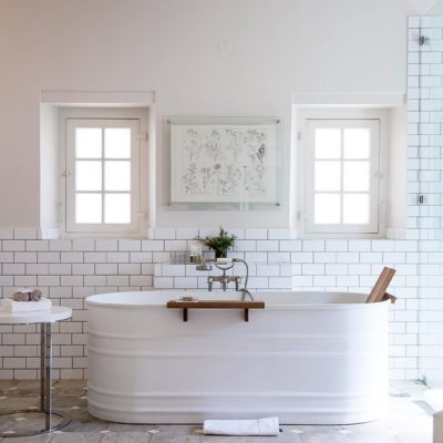 Home Design Trends: Galvanized Stock Tanks and Feed Troughs as Décor