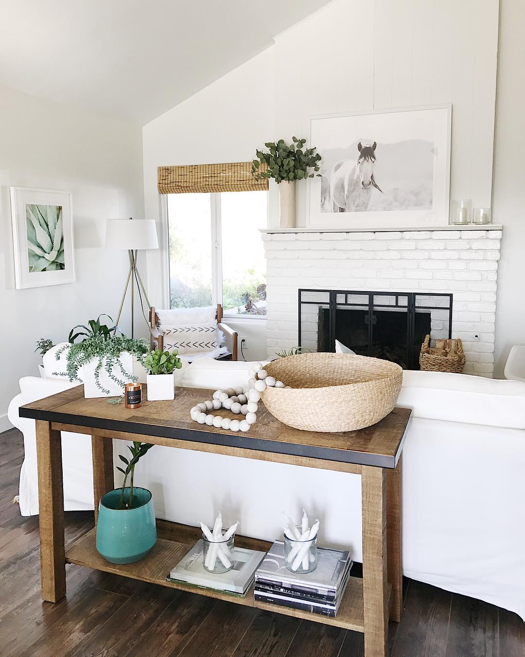 A Bright White + Rustic California Home, Updated for Summer