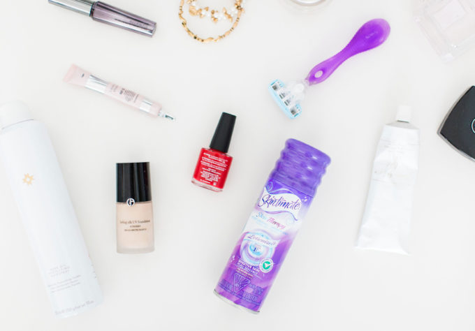 The everyday beauty products lifestyle blogger Lexi of Glitter, Inc. considers essentials and must-haves. Click through for the details.   glitterinc.com   @glitterinc #ad