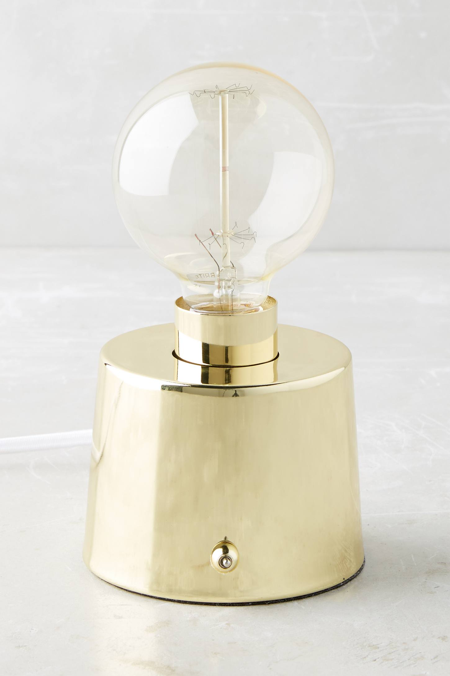 Brass Eureka Table Lamp