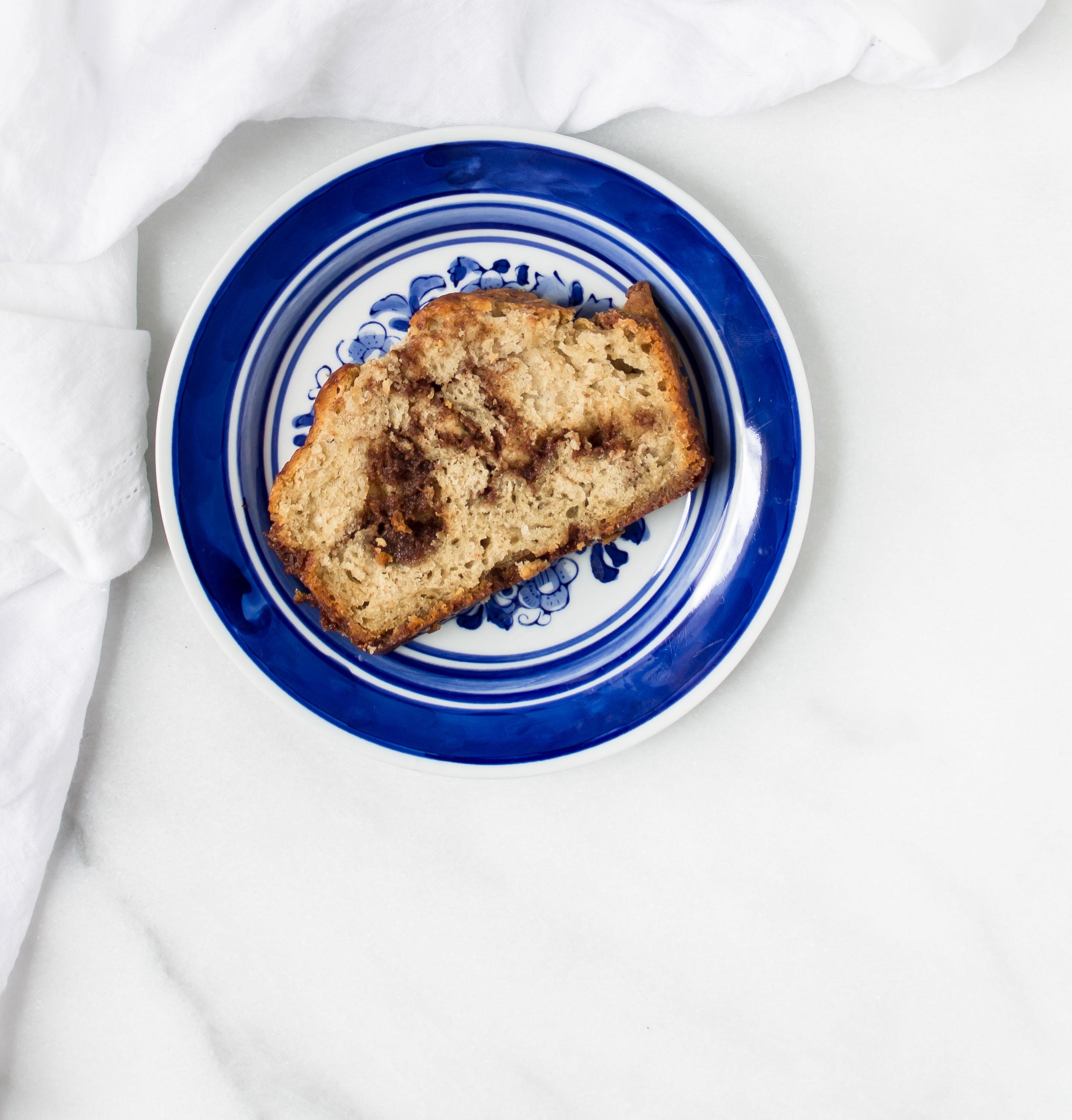 How to Make Homemade Cinnamon Streusel Scone Bread. Click through for the recipe. | glitterinc.com | @glitterinc