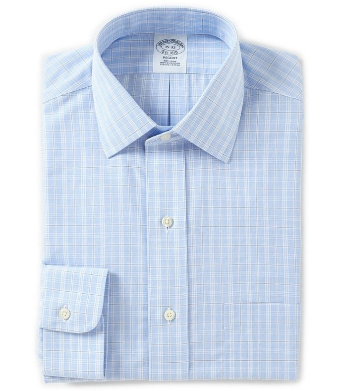 Non-Iron Regent Fit Dress Shirt