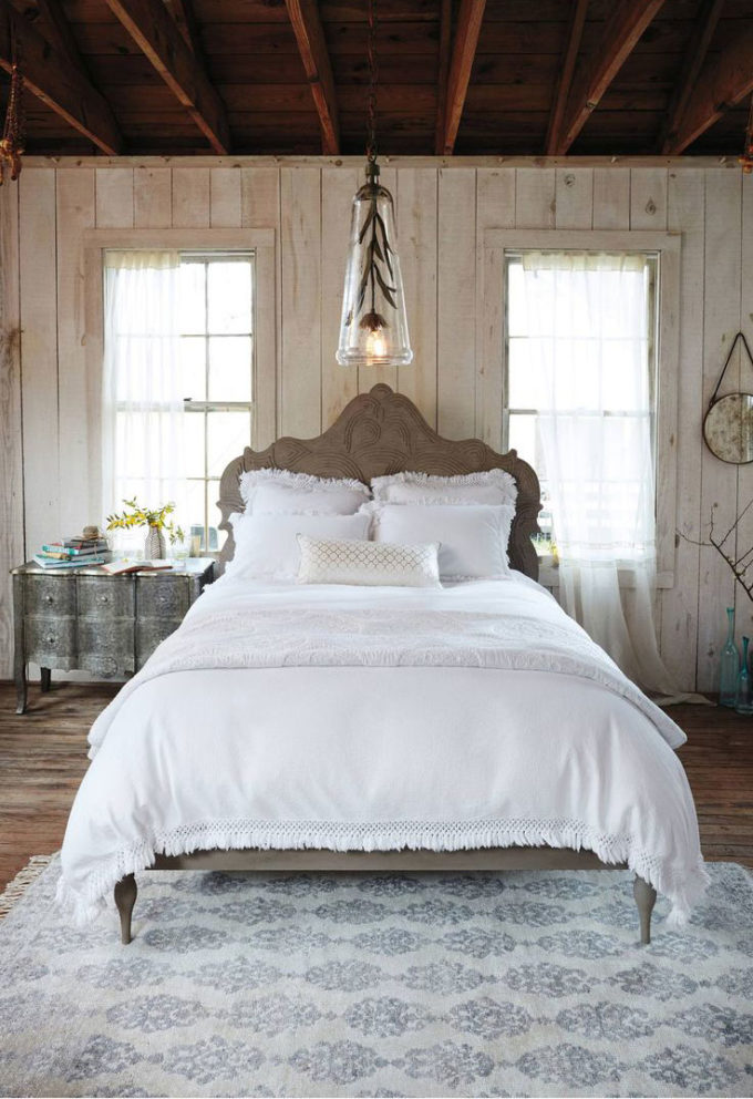 Lifestyle blogger Lexi of Glitter, Inc. rounds up 25 Must-Buy Items from Anthropologie's Summer Tag Sale. Loving this bohemian bedroom! | glitterinc.com | @glitterinc