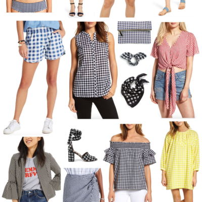 Trend-Spotting: A Huge Roundup of Summer Gingham