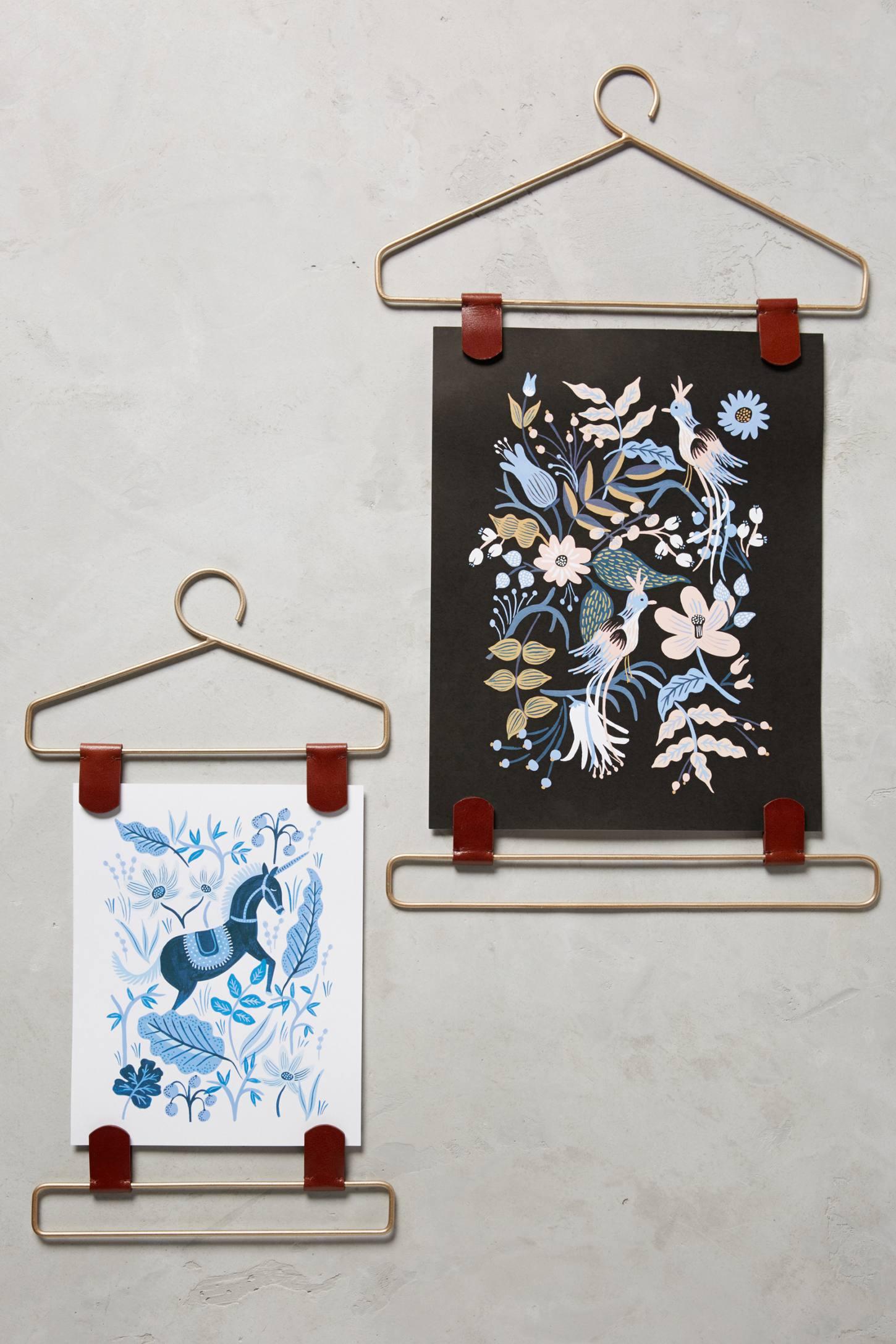 Wardrobe Print Hangers