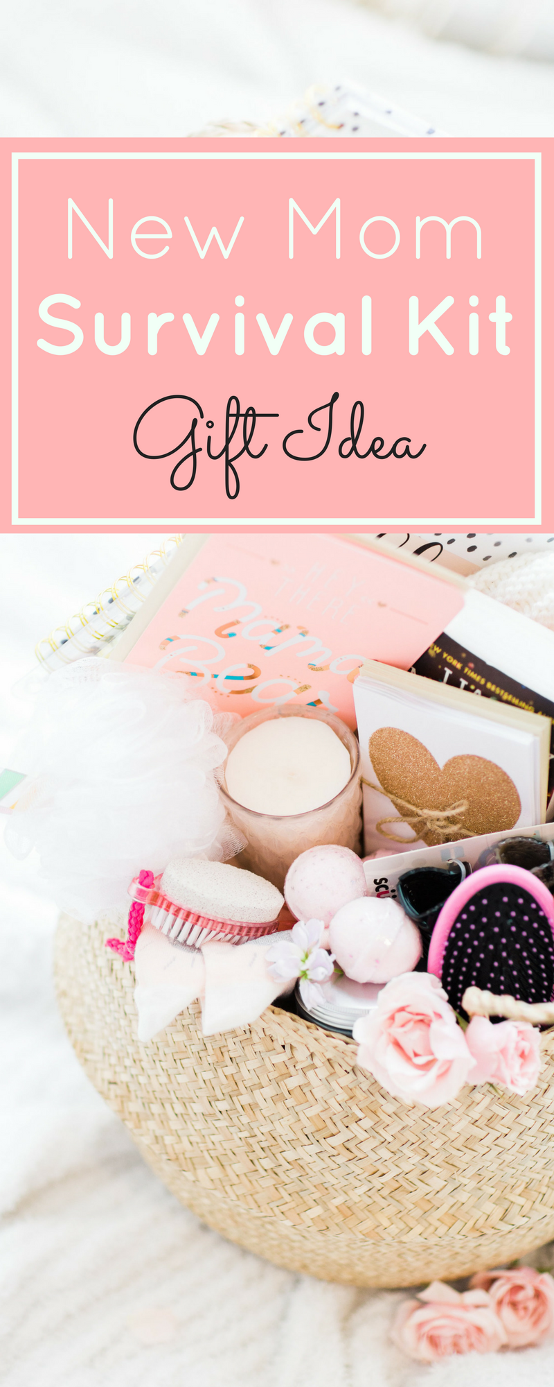 Lifestyle blogger Lexi of Glitter, Inc. shares how to make a new mom survival basket that any mama with a brand new baby would love. Click through for the DIY. | glitterinc.com | @glitterinc