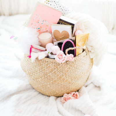 How to Make A New Mom Survival Basket