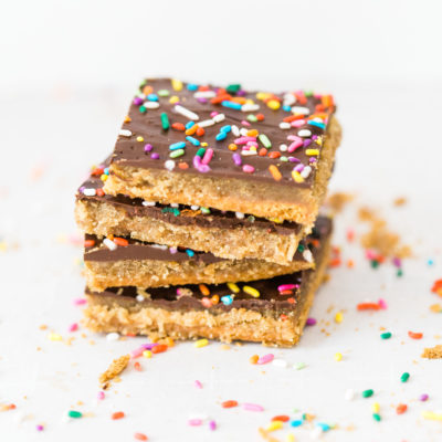 Classic Graham Cracker Toffee Bark (a.k.a., Graham Cracker Crack)