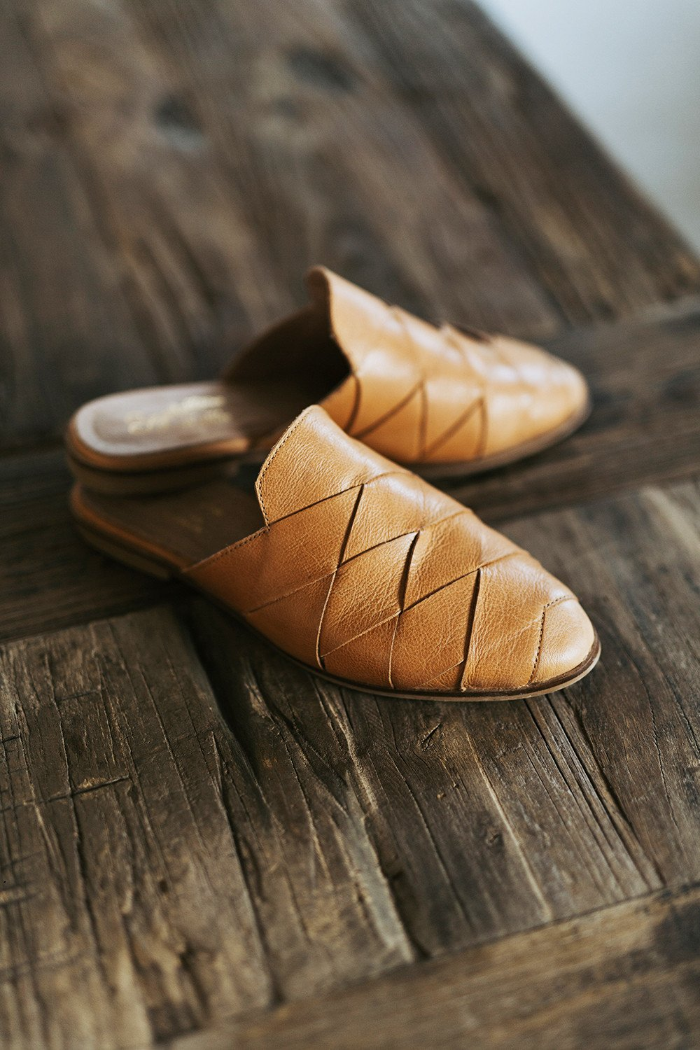 Seychelles Survival Leather Mules