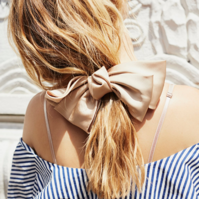 Silk Bow Barrette