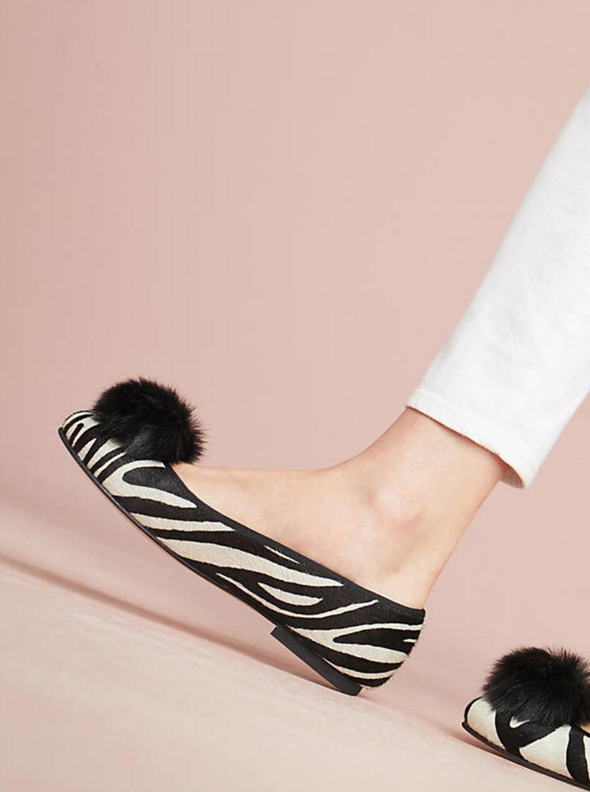 The season of stylish flats is here! Fall shoe love: Carmen Salas Eco Flats | glitterinc.com | @glitterinc