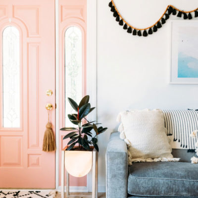 Home Design Trends: Chic Door Knob Tassels