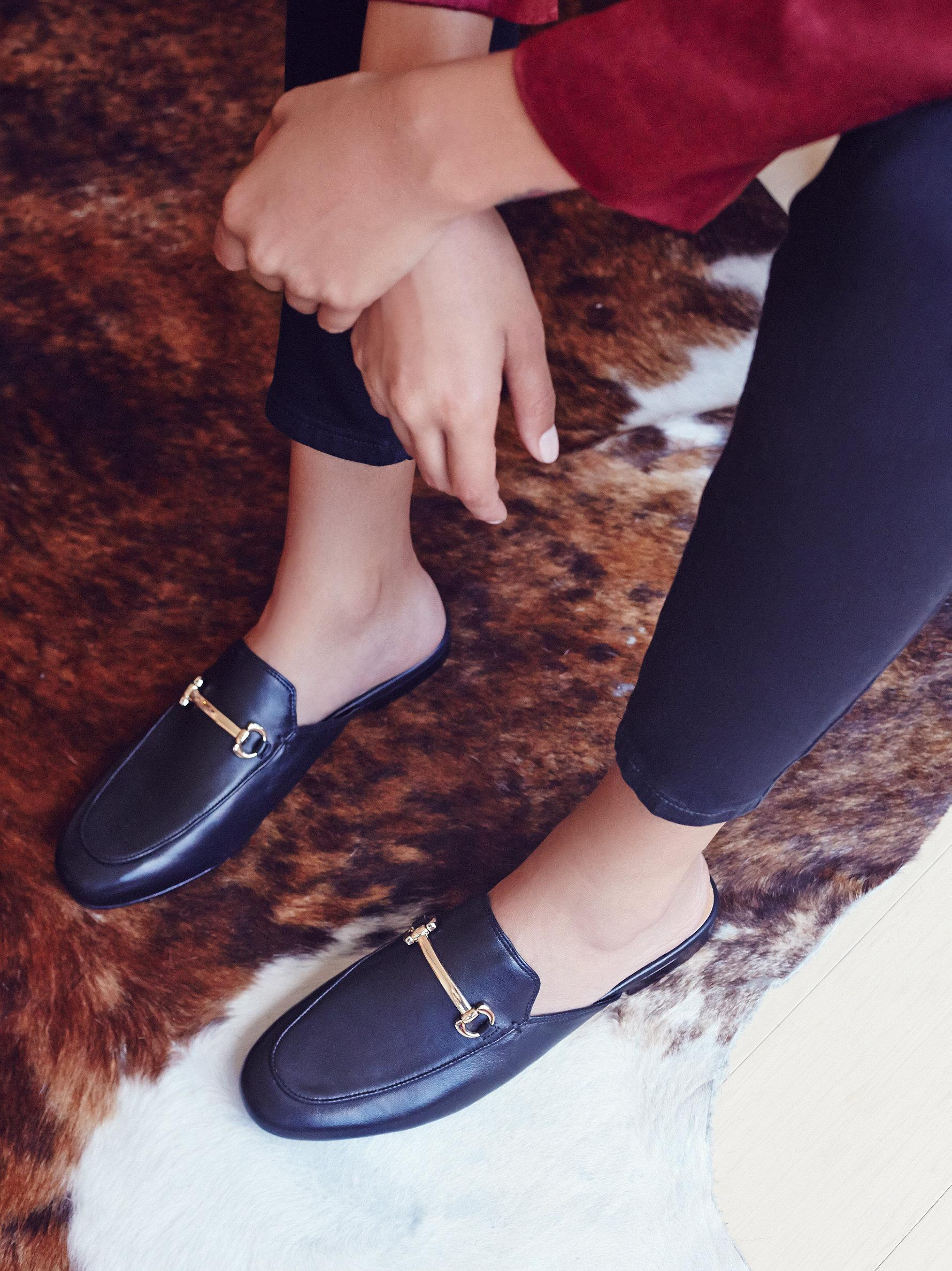 The season of stylish flats is here! Fall shoe love: Free People Gigi Slip-On Loafer | glitterinc.com | @glitterinc - 15 Trendy Flats To Fall in Love With This Season by NC style blogger Glitter, Inc.