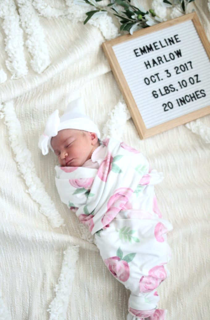 Meet Our New Baby Girl! by North Carolina lifestyle blogger Glitter, Inc.