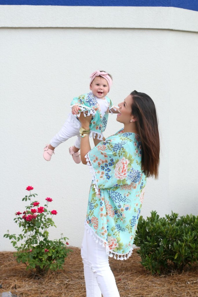 Things I Swore I Wouldn't Do As A Mom That I Totally Do // Mommy and Me Kimonos