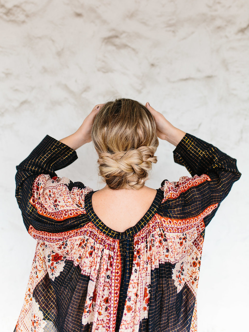 6 simple holiday hairstyles - with the party-ready hair tutorials - that are sure to WOW at your next event this holiday season. | glitterinc.com | @glitterinc - Easy Triple Braided Updo - 6 Simple Holiday Hairstyles That Are Sure to Wow by North Carolina style blogger Glitter, Inc