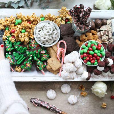 How to Make a Holiday Dessert Charcuterie Board