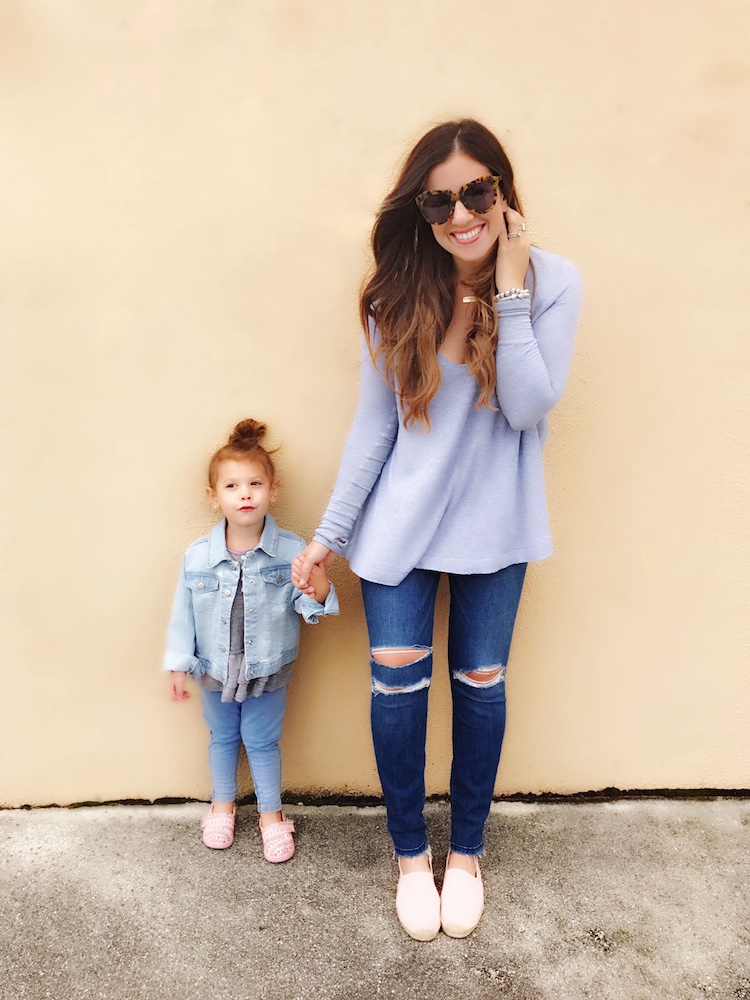 Things I Swore I Wouldn't Do As A Mom That I Totally Do // Mommy and Me Fashion
